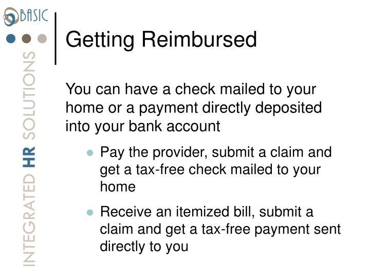 Getting Reimbursed