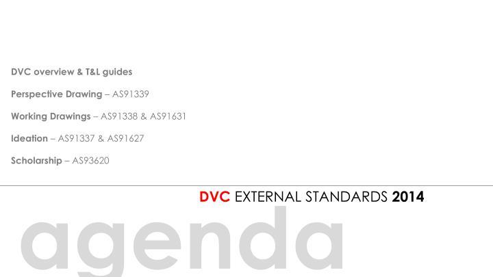 DVC overview & T&L