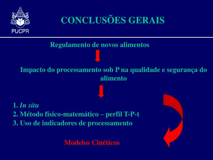 Impacto do processamento sob P na qualidade e seguran