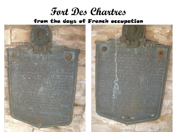 Fort Des Chartres