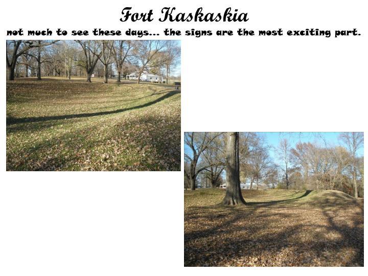 Fort Kaskaskia