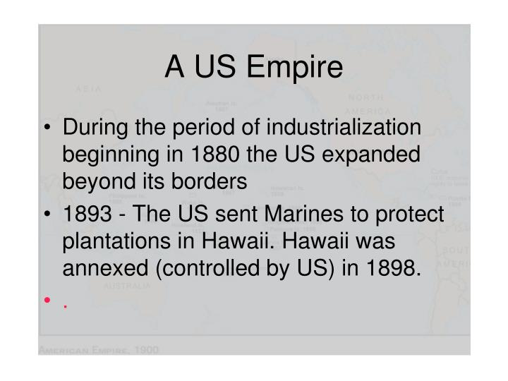 A US Empire