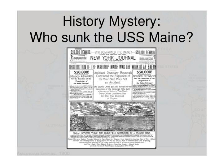 History Mystery: