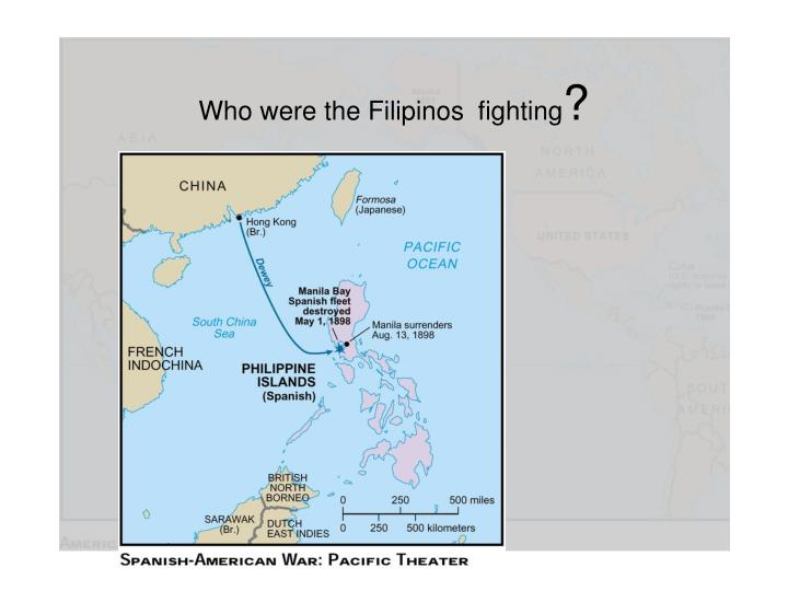 Who were the Filipinos