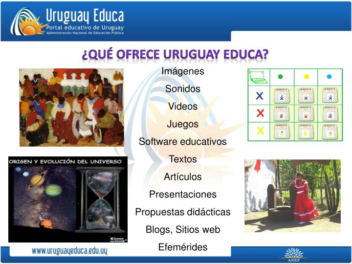 ¿Qué ofrece uruguay educa?