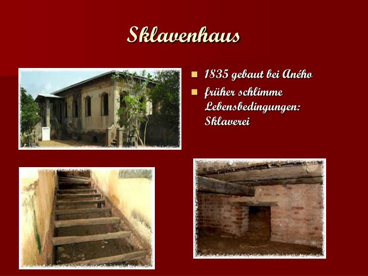 Sklavenhaus