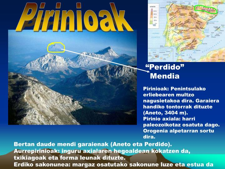 Pirinioak