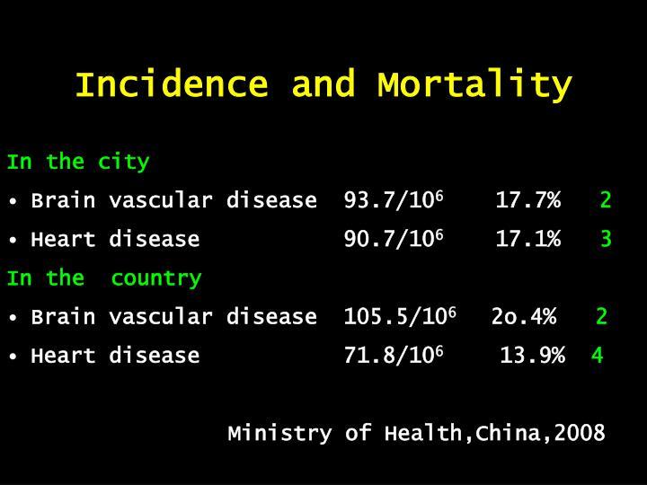 Incidence and Mortality