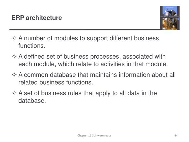 ERP architecture