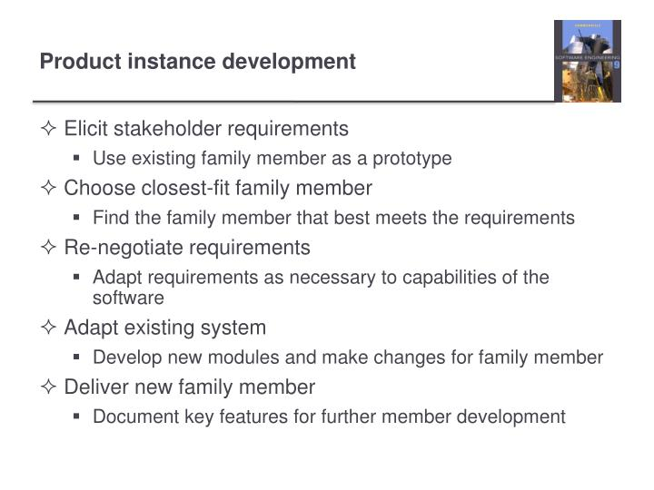 Elicit stakeholder requirements