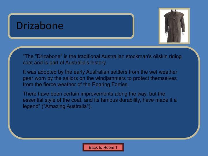 Drizabone