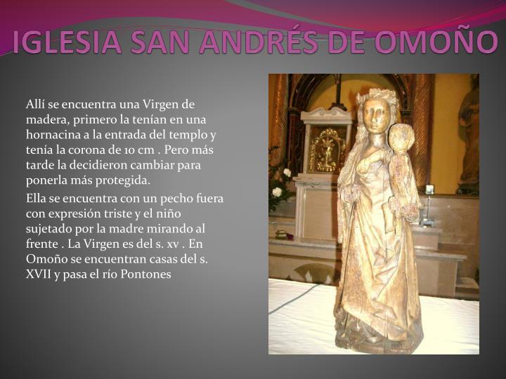 IGLESIA SAN ANDRÉS DE OMOÑO