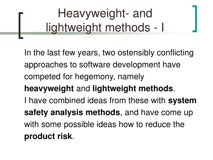 Heavyweight- and