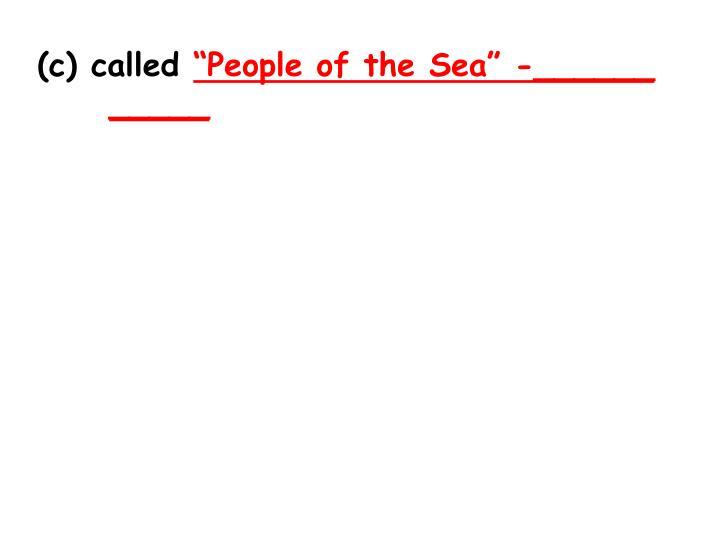 (c) called
