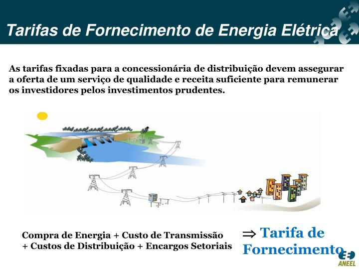 Tarifas de Fornecimento de Energia Elétrica