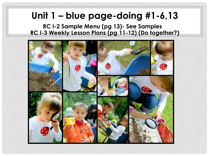 Unit 1 – blue page-doing #1-6,13