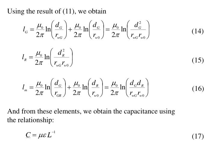 Using the result of (11), we obtain