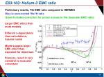 e03 103 helium 3 emc ratio