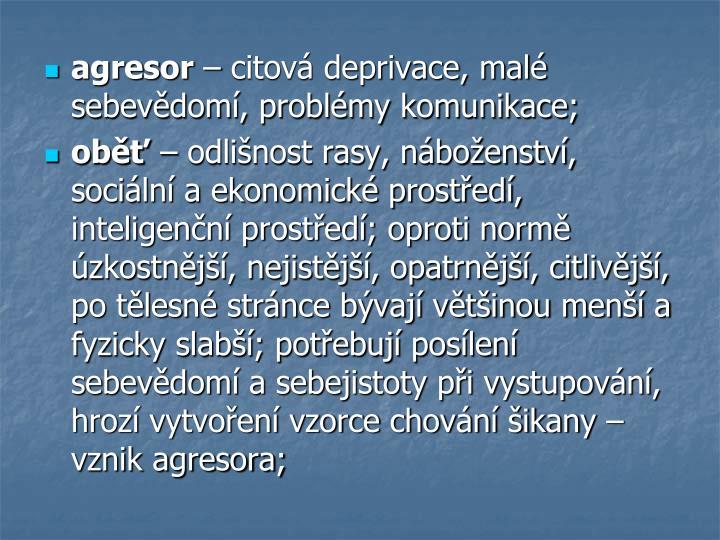 agresor