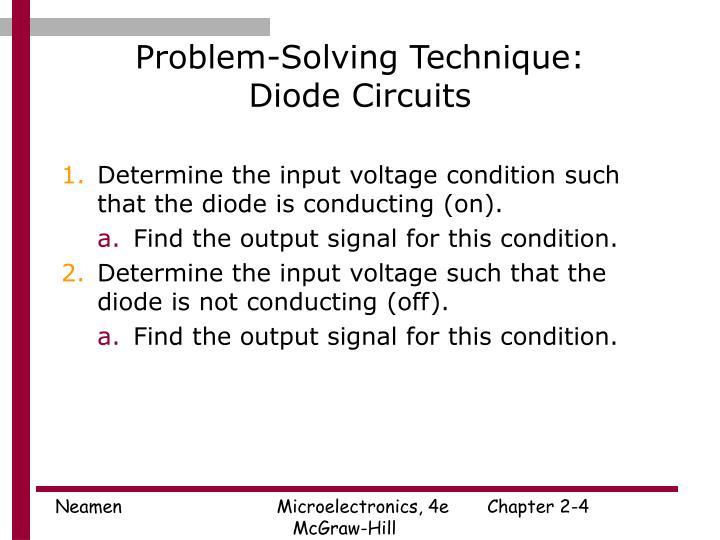Problem-Solving Technique: