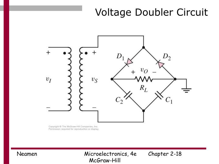 Voltage Doubler Circuit