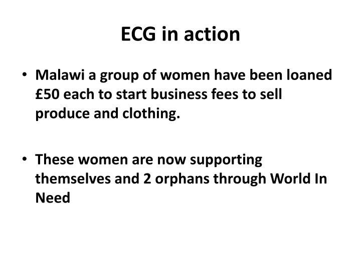 ECG in action