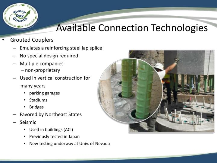 Available Connection Technologies