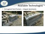 available technologies2