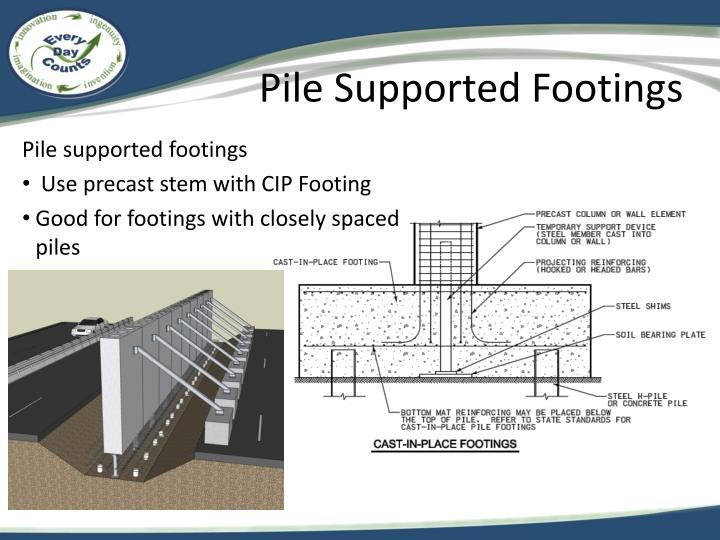 Pile Supported Footings
