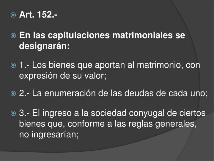 Art. 152.-