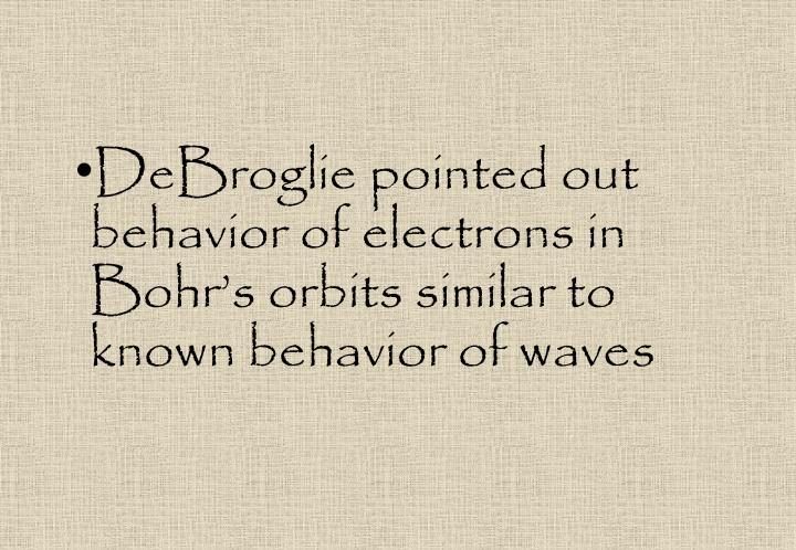 DeBroglie