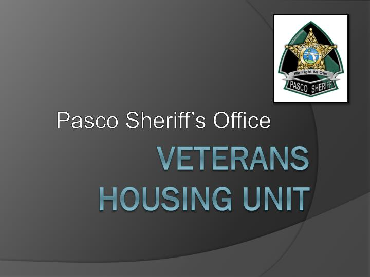 Pasco Sheriff's Office