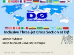 inclusive three jet cross section at d
