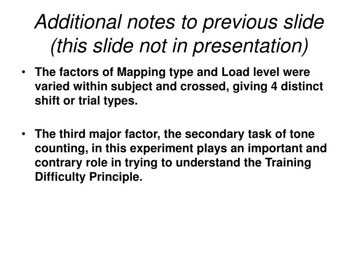 Additional notes to previous slide (this slide not in presentation)