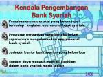 kendala pengembangan bank syariah