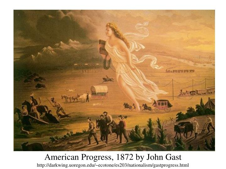 American Progress, 1872 by John Gast