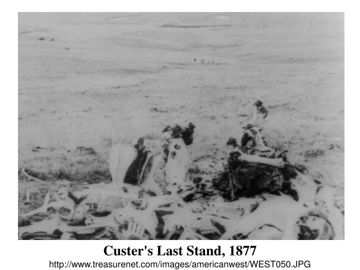 Custer's Last Stand, 1877