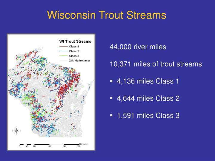 Wisconsin Trout Streams