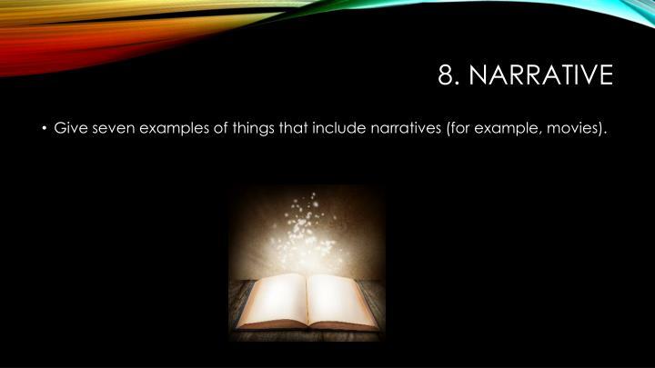 8. narrative