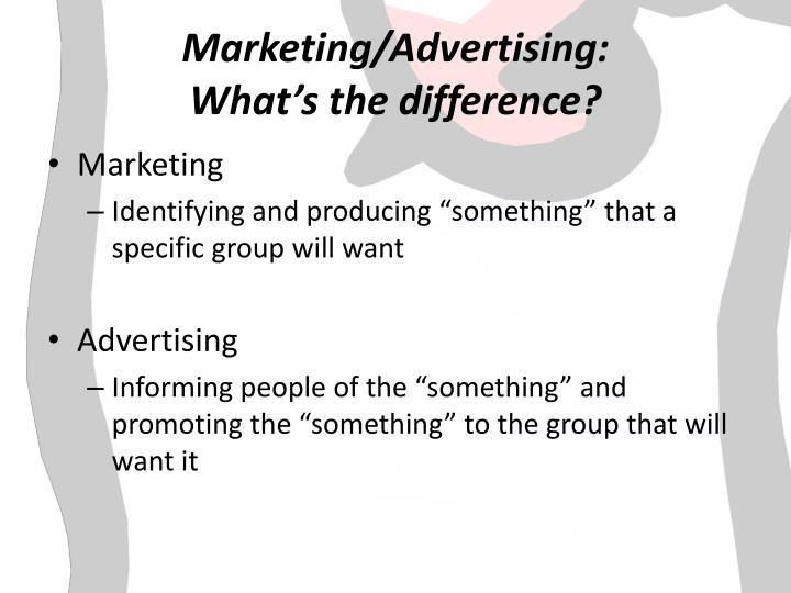 Marketing advertising what s the difference