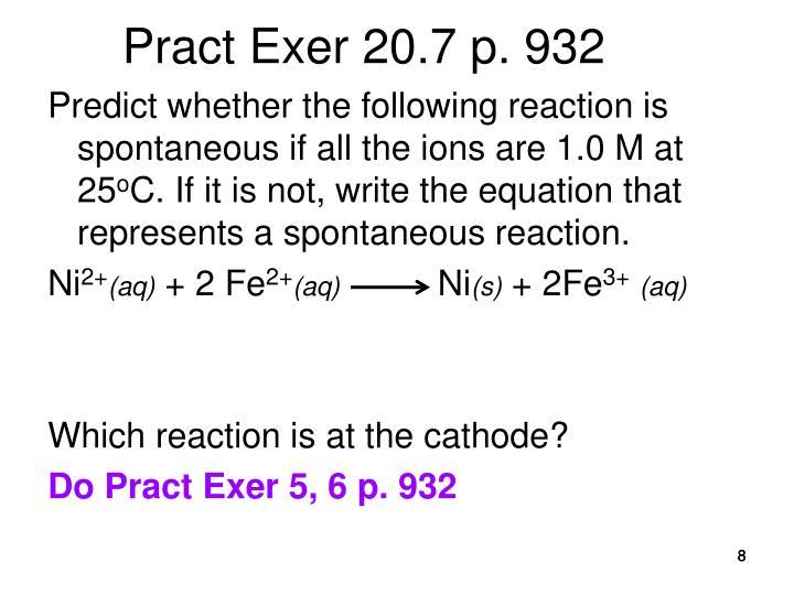 Pract Exer 20.7 p. 932
