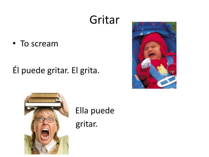 Gritar