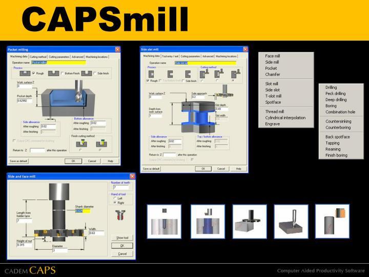 CAPSmill