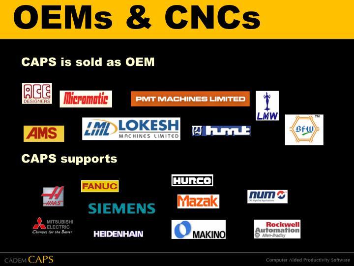 OEMs & CNCs