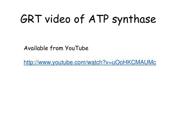 GRT video of ATP synthase