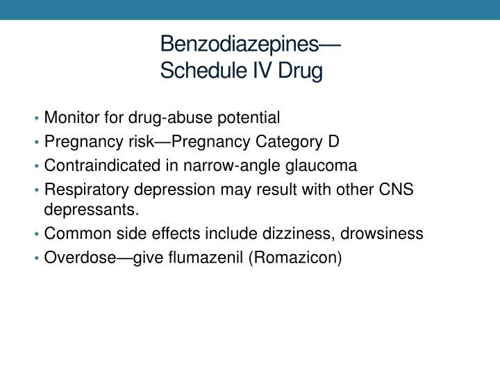 Benzodiazepines—