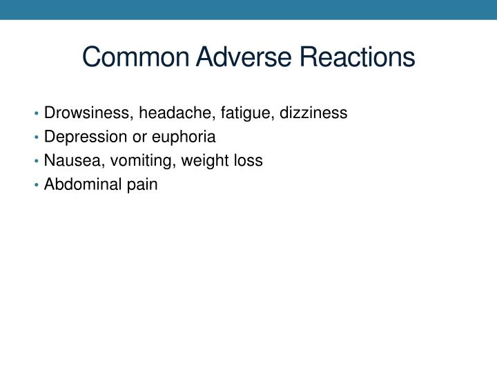 Common Adverse Reactions