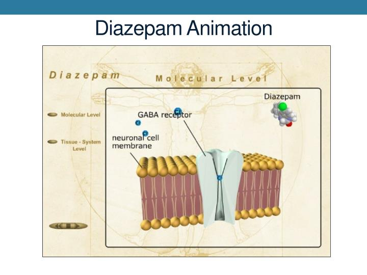 Diazepam Animation