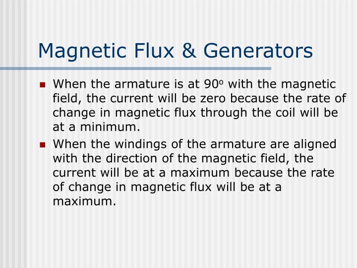 Magnetic Flux & Generators