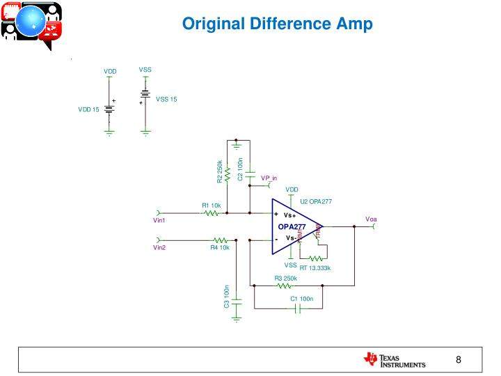 Original Difference Amp